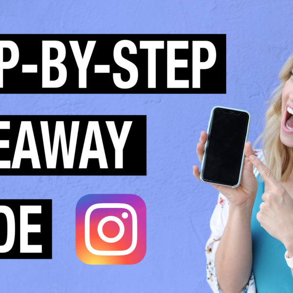 How to Run a Successful Instagram Giveaway (The Definitive Step-by-step Guide)